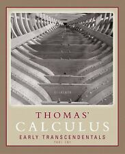 Thomas' Calculus Early Transcendentals Part 1 (Single Variable, chs. 1-11) (11th