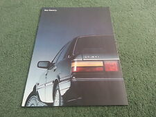 June 1988 TOYOTA CAMRY Saloon & Estate - GERMAN 22 PAGE BROCHURE + SPECIFICATION