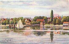 Kressbronn am Bodensee, Künstlerkarte, sign. Marschall, 1931