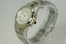 SEIKO SGEE68 MEN'S COUTURA COLLECTION DATE TWO-TONE STAINLESS STEEL WATCH