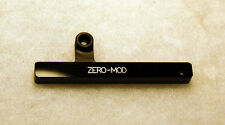 Zero Mod Thumb Rest / Tug Bar for Fender Jazz Bass - No Mods! No Holes! In Black