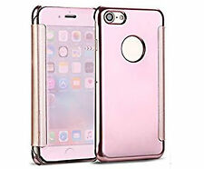 """Smart Clear View Mirror Wallet Flip Case Cover For iPhone 6 6S 6+ 7 4.7"""" 7+ 5.5"""""""