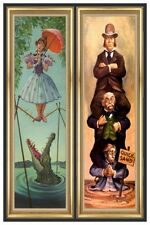 """HAUNTED MANSION STRETCHING ROOM PART 1-2 - DISNEY POSTER  - 12"""" x 18"""""""