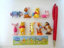 Complete Collectible Figures Set WINNIE THE POOH Toppers Michael Zuber