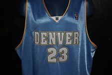 True Authentic NBA Denver Nuggets Marcus Camby Jersey Adidas Sz 56 MSRP $285