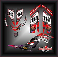 Yamaha Raptor 700 06-12  SEMI CUSTOM GRAPHICS KIT MILK CHESTER COORS