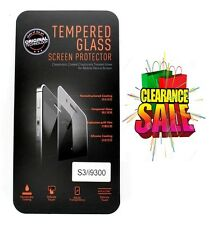 Samsung Galaxy S3 i9300 100% Tempered Glass Screen Protector - High Quality NEW
