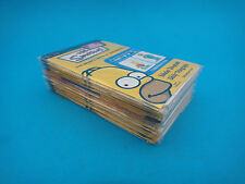 Simpsons 3D Character Collection Cards Set Daily Telegraph Sunday Telegraph Rare
