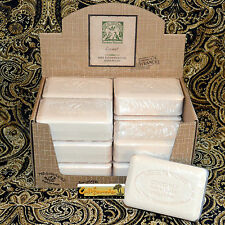 Pre de Provence French Soap COCONUT Scent Case of 12 x 250 Gram Bath Shower Bars