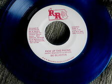 BO BLASTER~PICK UP THE PHONE~BLUE WAX~VG++~R R OUT OF PITTSBURGH PA ~ DOO WOP 45