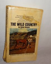 The Wild Country Book 1970 Paperback Walt Disney Movie Tie-In Ralph Moody Horse