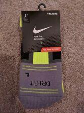 Nike Volt Pro Compression Training Socks size L 8-12 Dri Fit Oregon Ducks