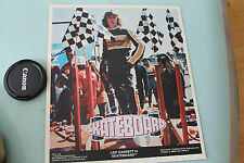 Vintage SKATEBOARD Leif Garrett Tony Alva Dogtown 1978 Movie POSTER o.g. 9x10in.