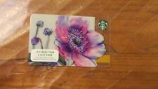 STARBUCKS Gift Card 2017 Spring Flowers-New & In Stock + Bonus