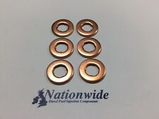 BMW 525 d 2.5 Common Rail Diesel Injector Washers/Seals x 6