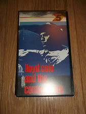 LLOYD COLE AND THE COMMOTIONS ~ VHS VIDEO EXCELLENT 1986