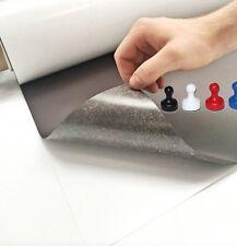 Eisenfolie - Ferrofolie 500mm x 1000mm x 0,4mm selbstklebend - Haftgrund für Mag