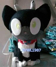 Ao No Exorcist Blue Exorcist Okumura Rin Plush Cat  pillow Toy Cosplay Doll Gift