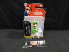 "Cat Luigi action figure World of Nintendo 4"" Super Mario"