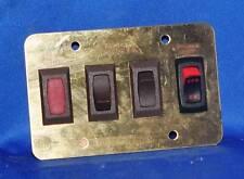Switch Panel low voltage 12 volt automotive stile