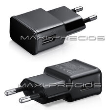 CARGADOR 2A 2000MAH RED CASA PARED USB BQ AQUARIS M5 M4.5 NEGRO