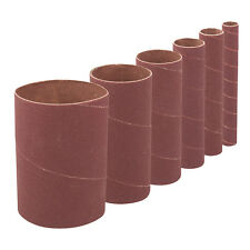 GA220708 T1168 140mm Bobbin Sleeves Set 6 pack 60 Grit Sanding Drum Sanding