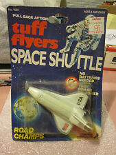1984 Road Champs Tuff Flyers NASA Space Shuttle Pull Back Flying Action #1630 HK