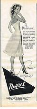 PUBLICITE ADVERTISING 045  1954  NEYRET  lingerie sous vetements
