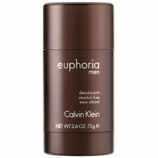 Euphoria by Calvin Klein 2.6 OZ Alcohol Free Deodorant Stick for Men