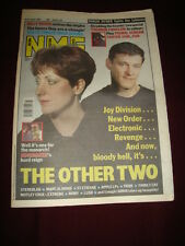 NME 1991 OCT 26 OTHER TWO SHAUN RYDER BILLY BRAGG TEENAGE FANCLUB PRIMAL SCREAM