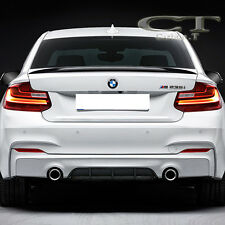 Unpainted BMW F22 2-Series Performance P Type Rear Trunk Spoiler Wing 220i 228i
