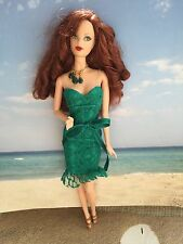 BARBIE STEFFIE FACE MUSE BIRTHSTONE BEAUTIES DOLL RED HAIR