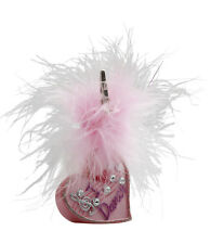 Girls Pink I Love Dance Ballet Bag Fluffy Photo Clip Gift By Katz Dancewear