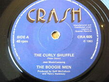 "THE BOOGIE MEN - THE CURLY SHUFFLE  7"" VINYL"