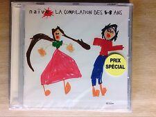 CD JEUNESSE RARE / NAIVE, LA COMPILATION DES 5 - 8 ANS / NEUF SOUS CELLO