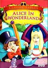 Classic Fables:  Alice in Wonderland (DVD, 2006) Animated Film Children Families
