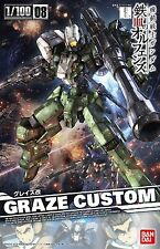 Bandai 1/100 New Iron-Blooded Orphans Gundam GRAZE CUSTOM Mobile Suit from Japan