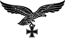 Luftwaffe Aquila imperiale Auto Adesivo 20x 13 Aquile Germania Croce Di Ferro