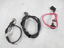 2004 Yamaha Serow XT225 Battery Cables Kit Positive Starter Lines LOW MILES 2593