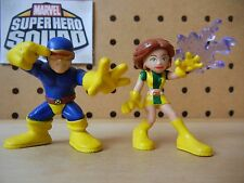 Marvel Super Hero Squad COMPLETE Wave 11: CYCLOPS & MARVEL GIRL of X-Men