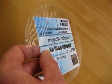 M25 Windscreen magicWsticker Static Parking Permit Holder No glue Added