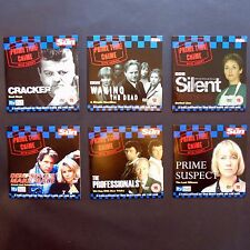 The Sun Prime Time Crime Set of Six DVD's Cracker Professionals Prime Suspect