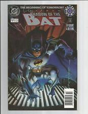 BATMAN SHADOW OF THE BAT 0 NM-  OUTSTANDING WHITE PAGES MODERN AGE DC COMIC 1994