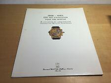 Booklet IWC Schaffhausen - 1868-1993: 125 Ans d'Evolution Pour Une Montre - FR