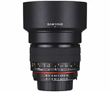 Samyang 85mm F1.4 UMC f/1.4 Aspherical Telephoto Lens for Sony a Alpha + GIFT