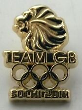 SOCHI 2014 WINTER OLYMPICS - OFFICIAL TEAM GB SOCHI 2014 PIN BADGE