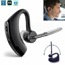 Universal Wireless Bluetooth Headset Headphone Earpiece For Car Truck Drivers