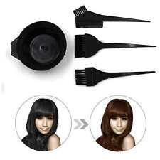 4PC Hair Dye Colouring Hairdressing Salon Bleach Bowl Comb Brushes Tint Kit Set