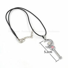 Sailor Moon Tsukino Usagi Silver Moon Stick Wand Necklace Cosplay For Anime Fan