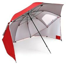 Sportbrella 8' Red Sport Brella Large Umbrella Sun Weather Shade Beach Shelter